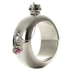Alcohol-Inspired Accessories - The Flask Bracelet by Cynthia Rowley Provides Convenient Pick-Me-Ups (GALLERY) Keep Cool, Bottle Design, Cynthia Rowley, Inventions, Just In Case, Liquor, Clever, Alcohol, Bracelets