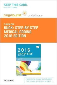 Step-by-Step Medical Coding, 2016 Edition - Pageburst E-book on Vitalsource Retail Access Card