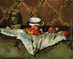Still Life2 Paul Cezanne Reproduction | 1st Art Gallery
