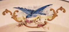 very old bluebird pattern