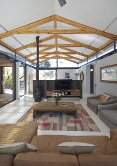Gazebo, Pergola, Architect House, Industrial Farmhouse, Building Materials, Sliding Doors, Old Houses, Outdoor Living, Outdoor Structures