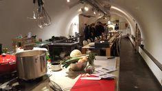 Koken in een werfkelder @grachtenatelier