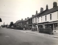 056511:Hexham Road Throckley Frith F. c.1956 | Type : Photog… | Flickr Local Studies, Image Please, Newcastle, Street View, Black And White, Type, Black N White, Black White
