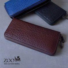 ZOO(ズー)ブルハイド牛革メンズラウンドファスナー長財布zlw-071