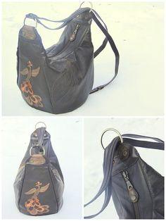 Это очень долгожданная сумка. Ни один мой заказчик не ждал так долго, как хозяйка этого рюкзачка:) А все потому, что всегда очень страшн...