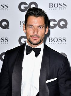 David Gandy arrives for GQ Men Of The Year Awards 2016 at Tate Modern on…