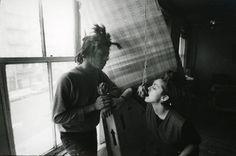 Credit: Stephen Torton Madonna with Jean-Michel Basquiat