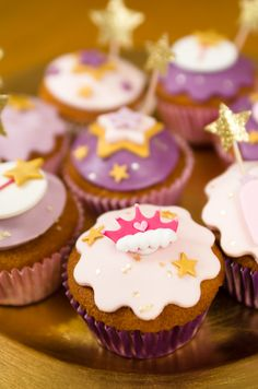 Cupcakes princesse Cendrillon | Annikids, le blog
