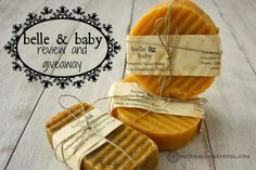 Belle & Baby | Handcrafted Soaps: Review and Giveaway
