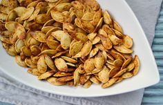A Healthy Fall Snack – Roasted Pumpkin Seeds