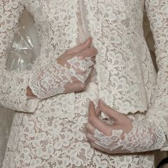The detailing at Valentino is always exquisite