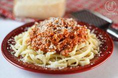 gotować! - Szybki makaron pomidorowy
