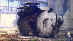 Disney World Star Wars Land concept art