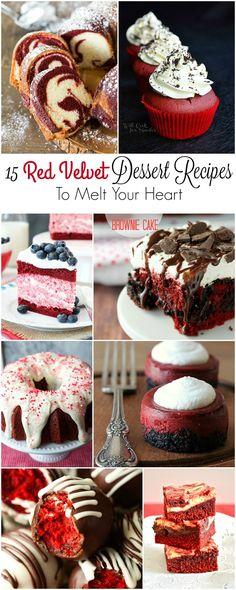 15 Red Velvet Dessert Recipes to Melt Your Heart