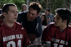 Teen wolf 15 day challenge day 9 pic of favorite lacrosse character.... Scott and stiles!(: I also like isaac(: