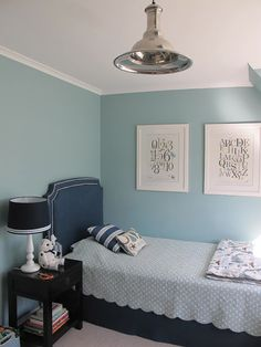 Dulux duck egg blue wall colour