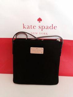 Kate Spade Tess Kennedy Park Black Bag #katespade #MessengerCrossBody