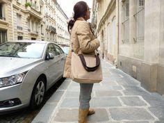 CINNAMON BROWN  4 Messenger bag  / Shoulder Bag /