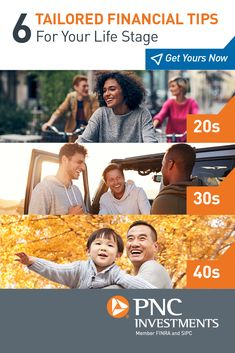 Every life stage brings along its own unique financial situations. That's why we've put together these tips to help you discover steps you can take today to help achieve a successful retirement — however far away it may be from where you are now. Education College, Financial Tips, Retirement Planning, Money Tips, Personal Finance, Leadership, Improve Yourself, Investing, Stage