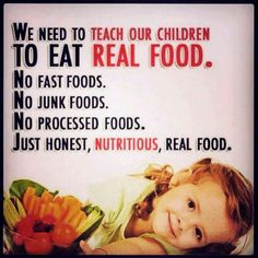 simple truth....we need to teach them to grow organic food! Watch them learn to feed themselves..and their biology grades may just go up, too
