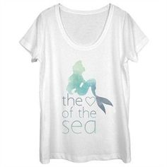 Check out  Little Mermaid He... where you can find http://shop.boroughkings.com/products/little-mermaid-heart-sea-scoop-neck-ladies-t-shirt?utm_campaign=social_autopilot&utm_source=pin&utm_medium=pin