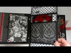 Interactive Folio Style Mini Album - Serenity - YouTube