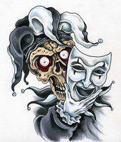 Evil Court Jester | deviantART: More Like Jerk In The Box by ~scottkaiser
