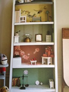 "dolls house from ""handmade home for children"" by Sania Pell."