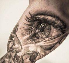che spettacolo! Tatuaje de ojo en Brazo - Buscatutattoo
