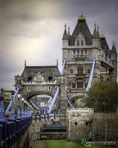 Tower Bridge, London. opened in June, 1894