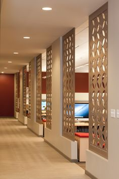 cool office dividers. Benching With Decorative Screening Office Dividers Cool