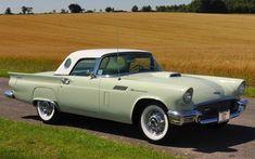 classic thunderbirds | 1957 Ford Thunderbird Convertible - US classic cars at Historics At ...