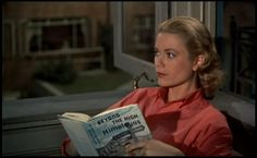 Great Moments in Movies: Grace Kelly in Rear Window | The Iron Cupcake