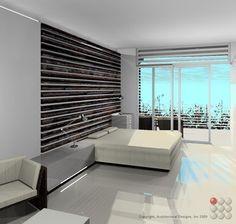 Bedroom design.