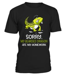 """# Bearded Dragon Ate My Homework Funny Student School T-Shirt .  Special Offer, not available in shops      Comes in a variety of styles and colours      Buy yours now before it is too late!      Secured payment via Visa / Mastercard / Amex / PayPal      How to place an order            Choose the model from the drop-down menu      Click on """"Buy it now""""      Choose the size and the quantity      Add your delivery address and bank details      And that's it!      Tags: You love studying and…"""