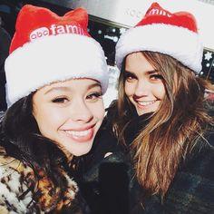 Cierra Ramirez and Maia Mitchell were both so beautiful at Winter Wonderland. | The Fosters