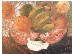 """""""frucht des lebens"""" von Frida Kahlo (1907-1954, Mexico)"""