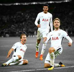 Tottenham Real Madrid A true Glory Glory night under the lights. Good Soccer Players, Football Players, Messi, Tottenham Hotspur Players, London Pride, Spurs Fans, White Hart Lane, Harry Kane, North London