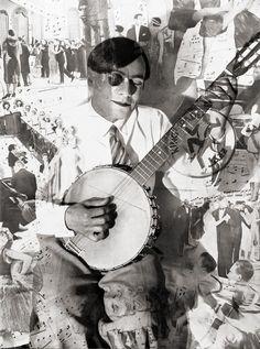 Heinz Hajek-Halke. Banjo (photomontage). Germany, 1930