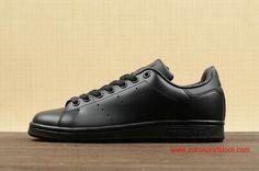 Adidas M20327 Originals stan smith All Black Womens Shoes