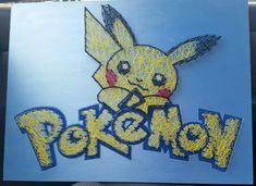 Pokemon string art