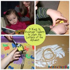 5 Ways to Encourage Toddlers to Learn the Alphabet