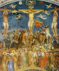 Giusto de' Menabuoi, Crucifixion, c. 1378 (Baptistery, Padua)