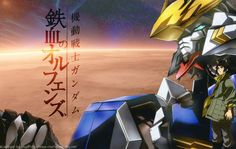 Wallpaper Mobile-Suit-Gundam-Iron-Blooded-Orphans