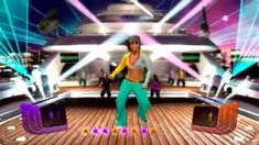 Zumba Fitness Rush - Tigre - medium intensity Merengue + multiplayer gam...