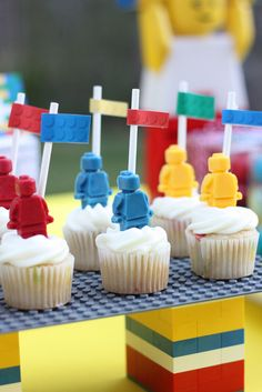 """Photo 1 of 23: Lego Inspired Party / Birthday """"Lego """" 