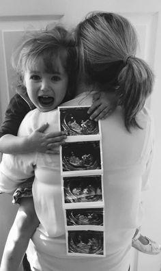 Second pregnancy announcement . - Pregnancy First, Pregnancy Trimesters Second Pregnancy Announcements, Creative Pregnancy Announcement, Pregnancy Tips, Pregnancy Photos, Baby Number 2 Announcement, Big Sister Announcement, Pregnancy Calendar, Pregnancy Fashion, Pregnancy Humor