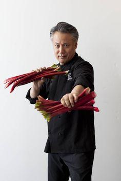 Rhubarb has met its match! MCC Chef Takashi Yagihashi. #TakashiYagihashi #culinarycouncil #macys #chef