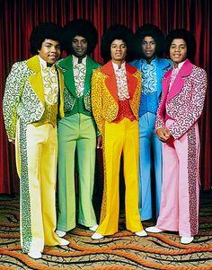 1970s: rainbow Jackson 5
