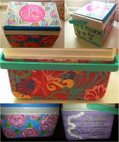 Lilly paint coolers
